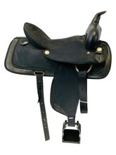 16 Inch Used Abetta Cordura Trail Saddle  *Free Shipping*