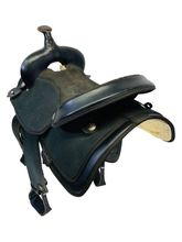 16 Inch Used Abetta Lightweight Wide Trail Saddle *Free Shipping*