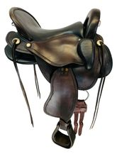 PRICE REDUCED! 16 Inch Used Amera Flex El Dorado Endurance Flex Saddle EX110-16 *Free Shipping*
