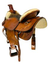 16 Inch Used American Saddlery All Around Saddle 1655 *Free Shipping*