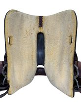16 Inch Used Big Horn Haflinger/Mutton Withered Trail Saddle 1681 *Free Shipping*