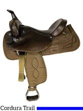 16 Inch Used Big Horn Synthetic Full QH Bars Saddle 276 *Free Shipping*