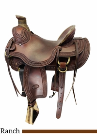 16 Inch Used Billy Cook Arbuckle Wade Ranch Saddle 2182 *Free Shipping*