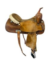 16 Inch Used Billy Cook Barrel Saddle 1527 *Free Shipping*