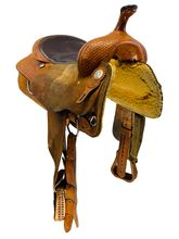 16 Inch Used Billy Cook Classic Cutting Saddle 8942 *Free Shipping*