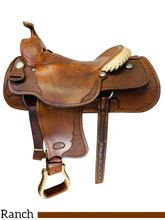 SOLD 2019/11/19  16 Inch Used Billy Cook Custom Ranch Saddle *Free Shipping*