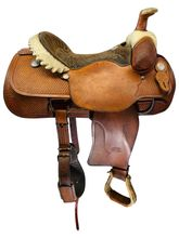 PRICE REDUCED! 16 Inch Used Billy Cook Dally Team Roper Saddle 9111 *Free Shipping*