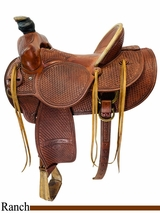PRICE REDUCED! 16inch Used Billy Cook High Country Ranch Saddle 2175 *Free Shipping*