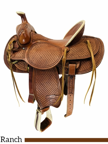 SOLD 2021/02/27  16 Inch Used Billy Cook High Country Ranch Saddle 2175 *Free Shipping*