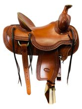 16 Inch Used Billy Cook High Country Rancher Saddle 2174 *Free Shipping*