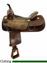 PRICE REDUCED! 16 Inch Used Billy Cook Pro Cutter Saddle 8940 *Free Shipping*