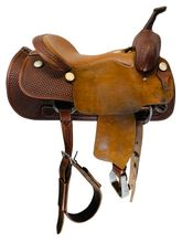 SOLD 2021/02/27 16 Inch Used Billy Cook Pro Cutter Saddle 8940 *Free Shipping*