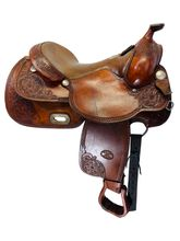 SOLD 2019/11/21 16 Inch Used Billy Cook Reining Saddle 8904 *Free Shipping*