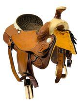 SOLD 2021/02/28  16 Inch Used Billy Cook Roping Saddle 9111 *Free Shipping*