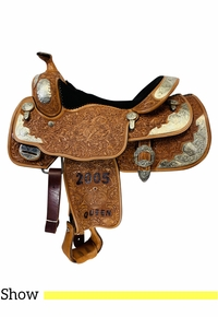 16 Inch Used Billy Cook Show Saddle 9000 *Free Shipping*