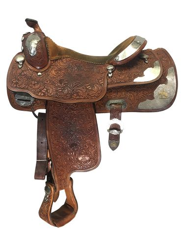 16 Inch Used Billy Cook Show Saddle Custom *Free Shipping*