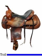 16 Inch Used Billy Cook Trail Saddle 1784 *Free Shipping*
