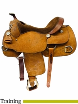PRICE REDUCED! 16inch Used Billy Cook Training Saddle 9030 *Free Shipping*