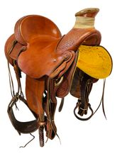 16 Inch Used Billy Cook Wade Ranch Saddle 2681 *Free Shipping*