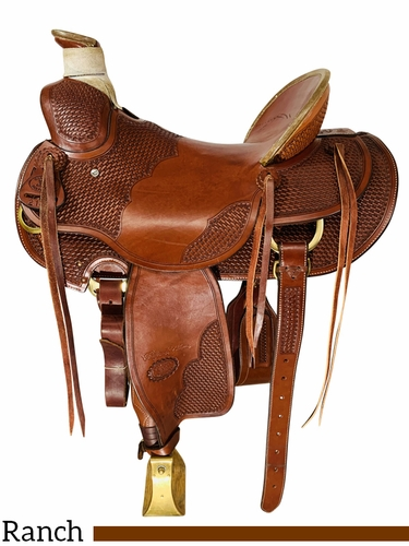 SOLD 2021/09/06 16 Inch Used Billy Cook Wade Tree Saddle 2181 *Free Shipping*
