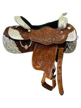 PRICE REDUCED! 16 Inch Used Billy Royal Crystal Supreme Show Saddle 102-16-2215 *Free Shipping*