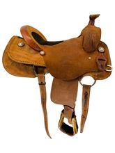 16 Inch Used Box T Saddlery Ranch Saddle Custom *Free Shipping*
