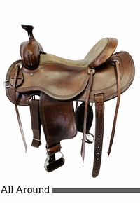 PRICE REDUCED! 16 Inch Used Cashel Outfitter All Around Trail Saddle SA-CO *Free Shipping*
