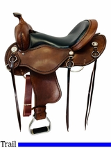 16 Inch Used Cashel Western Trail Saddle SA-CT *Free Shipping*