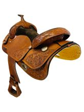 PRICE REDUCED! 16 Inch Used Champion Turf Competiter Arena Reining Saddle 5222 *Free Shipping*