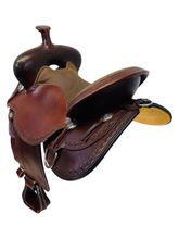 SOLD 2019/10/14  PRICE REDUCED!  16 Inch Used Circle Y Alpine Flex2 Trail Saddle 2377 *Free Shipping*