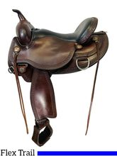 SOLD 2021/02/28  16 Inch Used Circle Y Copper Mine Flex2 Trail Saddle 1565 *Free Shipping*