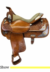 16 Inch Used Circle Y Equitation Show Saddle 2996 *Free Shipping*