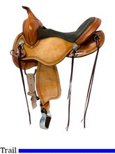 16 Inch Used Circle Y Gillette Trail Saddle 2615 *Free Shipping*