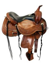 16 Inch Used Circle Y Julie Goodnight Monarch Flex2 Saddle 1752 *Free Shipping*