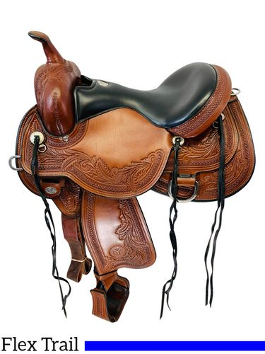 SOLD 2019/10/04  16 Inch Used Circle Y Julie Goodnight Monarch Flex2 Saddle 1752 *Free Shipping*