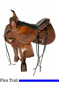 16 Inch Used Circle Y Julie Goodnight Monarch Saddle 1752 *Free Shipping*