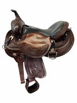 16 Inch Used Circle Y Julie Goodnight Wind River Flex2 Saddle 1750 *Free Shipping*