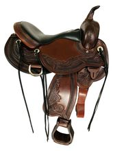 SOLD 2021/10/19  16 Inch Used Circle Y Julie Goodnight Wind River Flex2 Trail Saddle 1750 *Free Shipping*