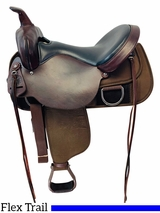 16 Inch Used Circle Y Lady Flex Cordura Saddle 5901 *Free Shipping*
