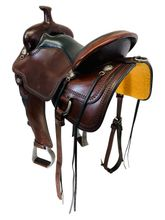 16 Inch Used Circle Y Little Horn Flex2 Trail Saddle 1668 *Free Shipping*