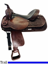 16 Inch Used Circle Y Park and Trail Saddle 3604 *Free Shipping*