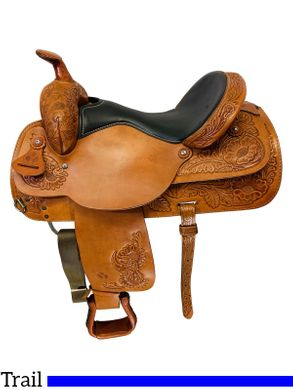 16 Inch Used Circle Y Park and Trail Saddle 3626 *Free Shipping*