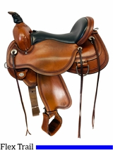 SOLD 2019/07/19  16 Inch Used Circle Y Pioneer Flex2 Trail Saddle 1665 *Free Shipping*