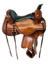 SOLD 2019/11/25  PRICE REDUCED! 16 Inch Used Circle Y Pioneer Flex2 Trail Saddle 1665 *Free Shipping*