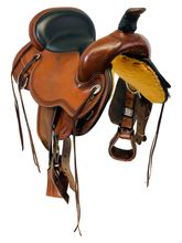 SOLD 2019/08/19  16 Inch Used Circle Y Pioneer Flex2 Trail Saddle 1665 *Free Shipping*
