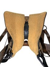 PRICE REDUCED! 16 Inch Used Circle Y Powder River Competitive Trail Saddle 2600 *Free Shipping*