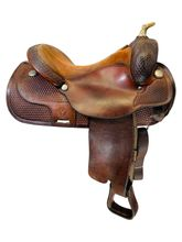 16 Inch Used Circle Y Reining Saddle 2371 *Free Shipping*
