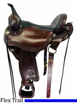 16 Inch Used Circle Y Sheridan Flex Lite Trail Saddle 1572 *Free Shipping*