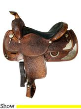 16 Inch Used Circle Y Show Saddle 2494 *Free Shipping*