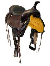 SOLD 2019/11/07  16 Inch Used Circle Y Topeka Flex2 Trail Saddle 1651 *Free Shipping*